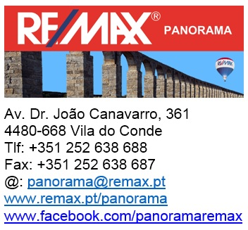RE/MAX PANORAMA – VILA DO CONDE – RECRUTA CONSULTORES