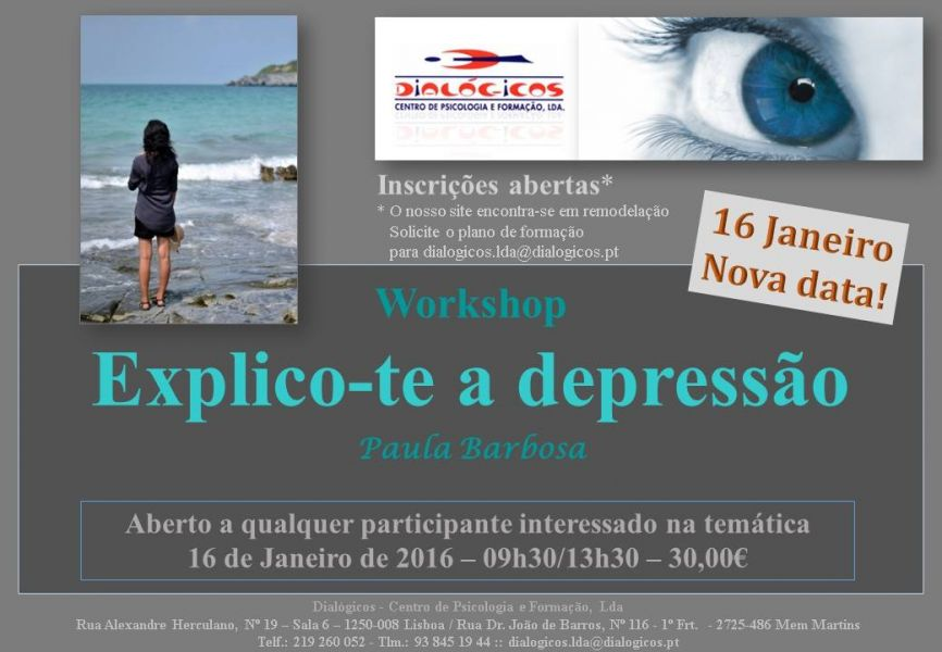 Workshop Explico-te a depressão