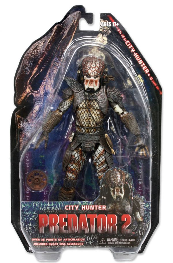 Figura Predador City Hunter Predator Neca
