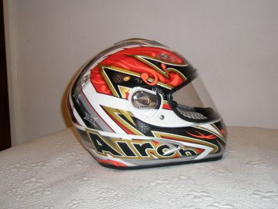 Capacete Airoh Dragon Wiizard Red tamanho M